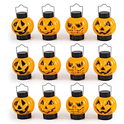 1-Dozen-Halloween-Light-Up-Pumpkin-Lanterns-For-Best-Halloween-Decorations-Props-by-Spooktacular-Creations-0