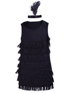 1920s-1930s-Ladies-Fringed-Flapper-Costume-Flapper-Dress-Headpiece-0-2