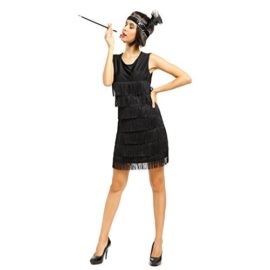 1920s-1930s-Ladies-Fringed-Flapper-Costume-Flapper-Dress-Headpiece-0