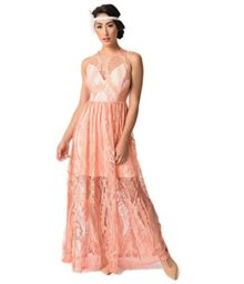 1920s-Style-Peach-Pink-Sleeveless-Lace-Long-Flapper-Dress-0
