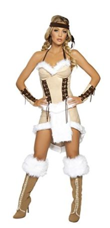 3-Piece-Indian-Princess-Fur-Dress-Costume-0
