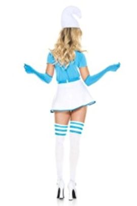 4-PC-Ladies-Blue-Buddy-Skirt-Costume-Set-0-0