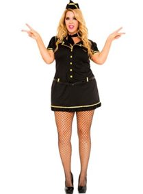 5-PC-Ladies-Mile-High-Club-Stewardess-Dress-0