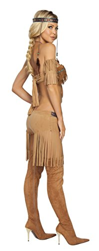 5-Piece-Indian-Princess-Beaded-Top-Fringe-Shorts-Costume-0-0