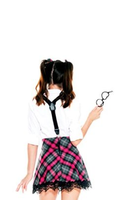 6-PC-Ladies-High-Class-Nerdy-School-Girl-Set-0-0