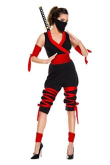 7-PC-Ladies-Fierce-Ninja-Jumpsuit-Costume-Set-0