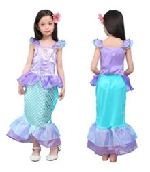 9-PLANETS-Girls-Kids-Little-Mermaid-Princess-Party-Dress-Costume-0