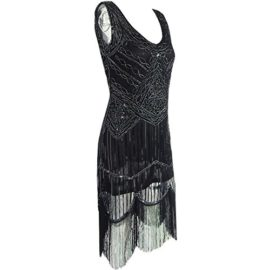 AIDEAR-Womens-1920s-Style-Inspired-Charleston-Sequin-Layer-Tassel-Cocktail-Flapper-Dress-0-2