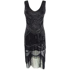AIDEAR-Womens-1920s-Style-Inspired-Charleston-Sequin-Layer-Tassel-Cocktail-Flapper-Dress-0