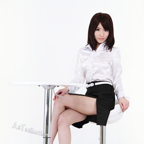 A&T Collection Women's Japanese Sexy Female Teacher