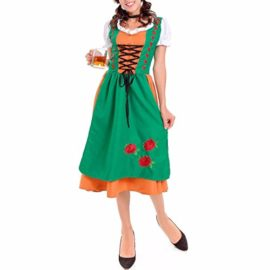 Adult-Classic-Retro-Fancy-Dress-Costume-Halloween-Charm-Ladies-Womens-Outfit-0-3