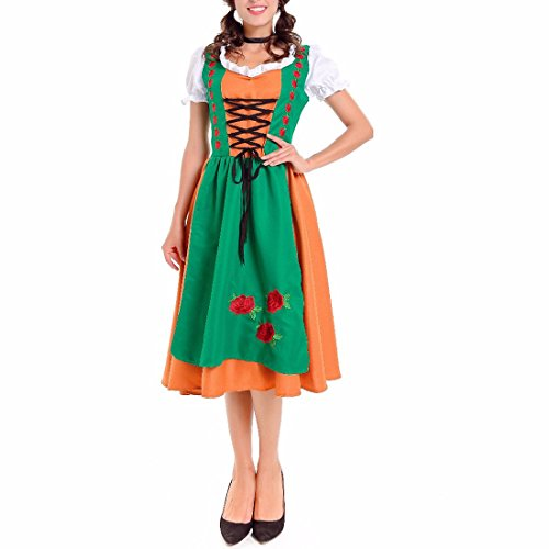 Adult Classic Retro Fancy Dress Costume Halloween Charm Ladies Womens Outfit