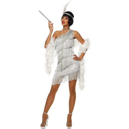 Adult-Dazzling-Flapper-Costume-Medium-0