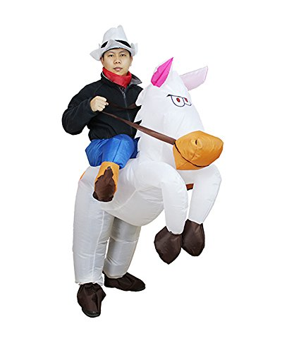 Adult-Halloween-Inflatable-Costume-Horse-Riding-Party-Cosplay-  sc 1 st  Halloween Costumes Best & Adult Halloween Inflatable Costume Horse Riding Party Cosplay ...