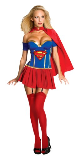 Adult Supergirl Corset Costume