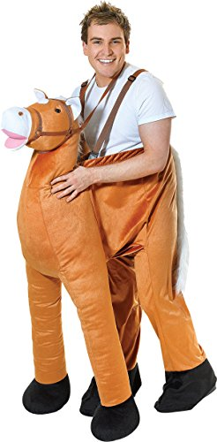 Adult-Unisex-Animal-Cowboy-Wild-West-Fancy-Dress-Step-In-Horse-Pantomine-Costume-0