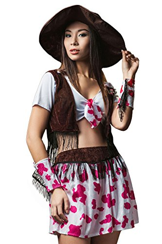 adult women cowgirl halloween costume wild west rodeo