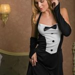 Adult-Women-Sexy-Waitress-Casino-Girl-Dancer-Bunny-Costume-Role-Play-Dress-Up-0-0