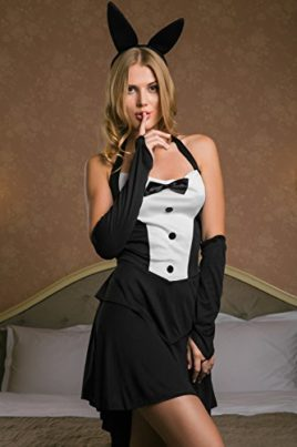 Adult-Women-Sexy-Waitress-Casino-Girl-Dancer-Bunny-Costume-Role-Play-Dress-Up-0-1