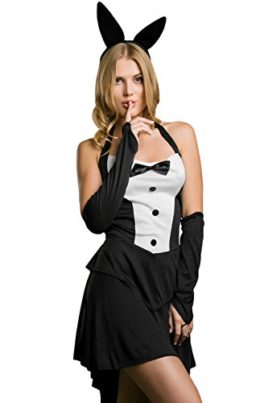 Adult-Women-Sexy-Waitress-Casino-Girl-Dancer-Bunny-Costume-Role-Play-Dress-Up-0