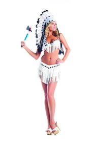 Adult-Womens-2-Piece-Sexy-Native-American-Indian-Princess-Halloween-Party-Costume-0