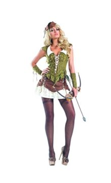 Adult-Womens-6-Piece-Sexy-Miss-Robin-Hood-Corset-Dress-Halloween-Party-Costume-0