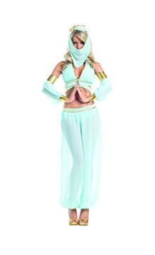 Adult-Womens-7-Piece-Sexy-Belly-Dancer-Arabian-Princess-Halloween-Party-Costume-0