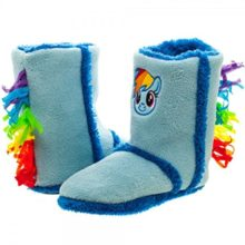 Adult-size-My-Little-Pony-Rainbow-Dash-Boot-Slippers-3-sizes-0