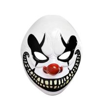 Adults-Halloween-Freak-Show-Clown-Mask-Fancy-Dress-Accessory-by-Amscan-0