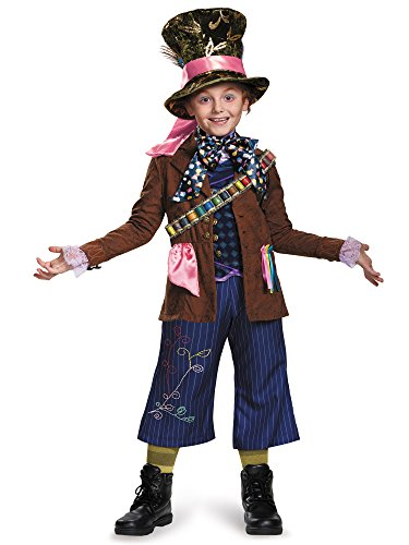 Alice Through the Looking Glass – Mad Hatter Prestige Costume for Kids