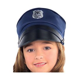 Amscan-Cutie-Cops-and-Robbers-Party-Policewoman-Costume-7-Piece-0-0