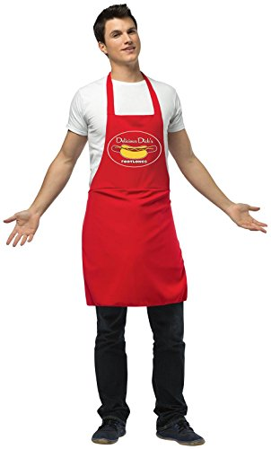 Apron Hot Dog Vender Adult Costume, Adult One-Size
