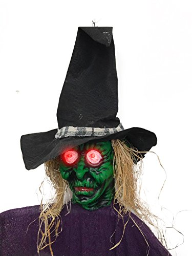 BIG-SCARY-Hanging-Witch-W-Glowing-Eyes-42-For-Parties-Outdoors-Halloween-0-0