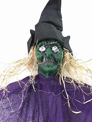 BIG-SCARY-Hanging-Witch-W-Glowing-Eyes-42-For-Parties-Outdoors-Halloween-0-2