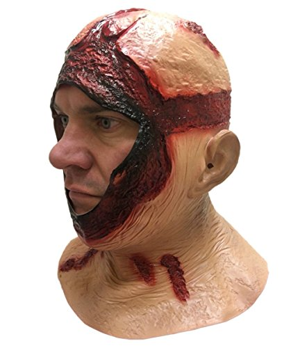 BLOODY-HOOD-MASK-Overhead-Latex-Jason-Halloween-Horror-Movie-Fancy-Dress-Masks-0-0