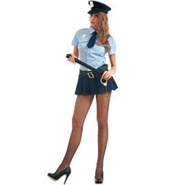 Bad-Cop-Womens-Halloween-Costume-Sexy-Police-Officer-of-Law-Uniform-0-0