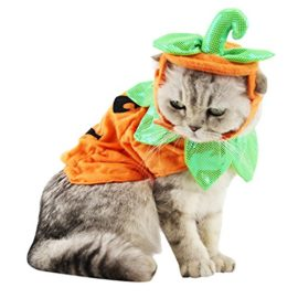Bascolor-Halloween-Pet-Costume-Pumpkin-Suits-Clothes-Hats-Dress-Headbands-for-Dogs-Cats-Christmas-Festival-Costumes-0-2