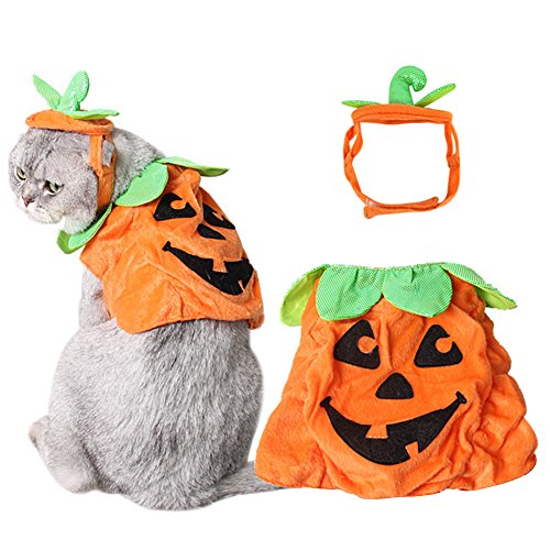 Bascolor-Halloween-Pet-Costume-Pumpkin-Suits-Clothes-Hats-Dress-Headbands-for-Dogs-Cats-Christmas-Festival-Costumes-0