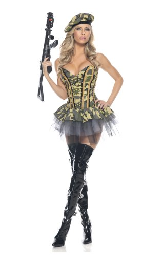 Be Wicked Commando Costume