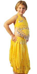 Belly-dancer-costume-for-child-in-yellow-0