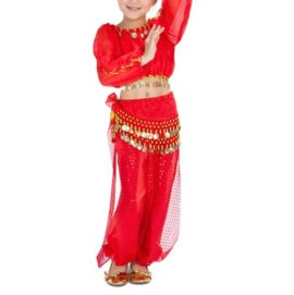 BellyLady-Kid-Tribal-Belly-Dance-Costume-Harem-Pants-Top-For-Halloween-0-0