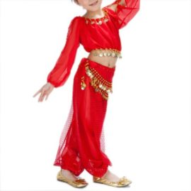 BellyLady-Kid-Tribal-Belly-Dance-Costume-Harem-Pants-Top-For-Halloween-0-1