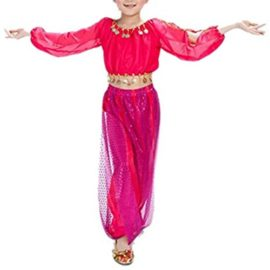 BellyLady-Kid-Tribal-Belly-Dance-Costume-Harem-Pants-Top-For-Halloween-0-3