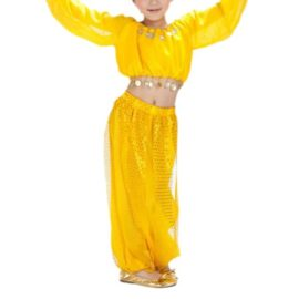 BellyLady-Kid-Tribal-Belly-Dance-Costume-Harem-Pants-Top-For-Halloween-0-4