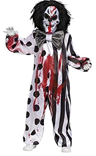 Bleeding Killer Clown Costume