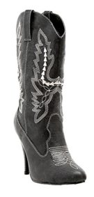 Boots-Cowgirl-Bk-Sz-9-Costume-Accessory-0