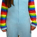 Briefly-Stated-Womens-Rainbow-Dash-Union-Suit-Light-Blue-SMALL-0