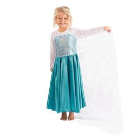 Butterfly-Craze-Girls-Snow-Queen-Costume-Snow-Princess-Dress-0-2
