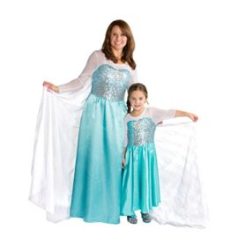 Butterfly-Craze-Girls-Snow-Queen-Costume-Snow-Princess-Dress-0-4