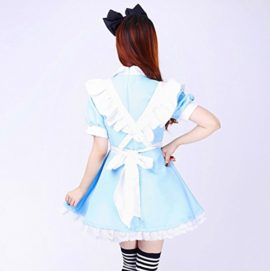 COCONEEN-Anime-Cosplay-Costume-French-Maid-Outfit-Halloween-0-2